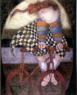 Poster Print Future Champion Girl Graciela Rodo Boulanger bicycle ride