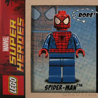 NEW, MINT, Marvel ULTIMATE SPIDER MAN mini figure from LEGO set 76004