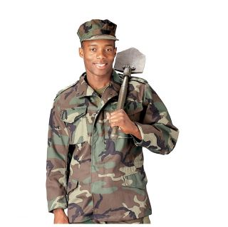 Ultra Force M 65 Field Jacket Woodland Camo