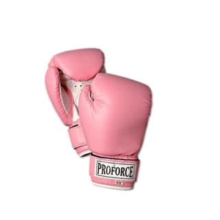 ProForce Womens Pro Style MMA Muay Thai Sparring Boxing Gloves