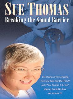 Sue Thomas Breaking the Sound Barrier (DVD, 2003) VG