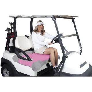 Golf Cart Seat Blanket Pink/Gray, from Brookstone