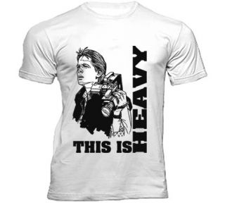 MARTY mcFLY BACK TO THE FUTURE THIS IS HEAVY T SHIRT