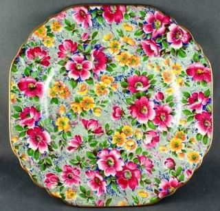 BCM Lord Nelson Ware Briar Rose Chintz Bread & Butter Plate