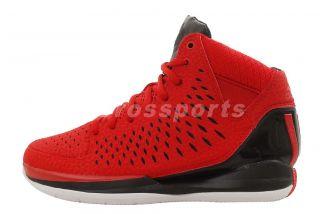 Adidas Rose 3 J Derrick Chicago Bull Brenda Red Youth Basketball Shoes
