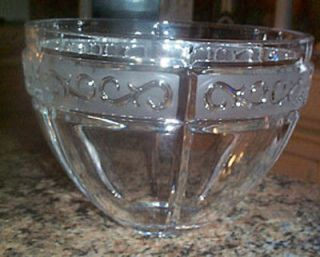 Rare Marquis by Waterford Arabesque Ice Bucket Bowl