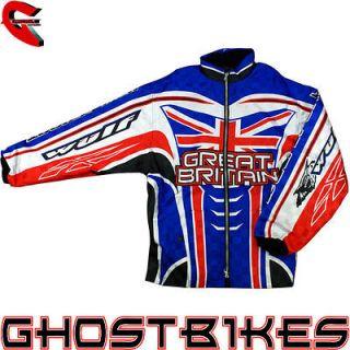 WULFSPORT GB RIDE OFF ROAD GREAT BRITIAN UNION JACK WULF MOTOCROSS