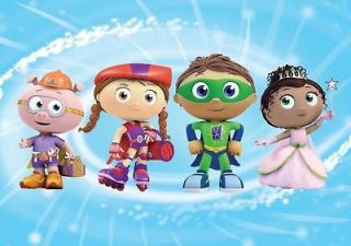 SUPERWHY Frosting Sheet Edible Cake Image