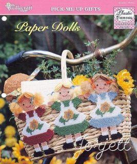 Paper Dolls toys & applique plastic canvas patterns