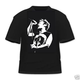 Bruce Dickinson Iron Maiden T Shirt All Col & Sizes