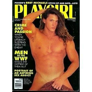 PLAYGIRL MAGAZINE DECEMBER 1991 WWF BRETT MICHEALS ISUE MINT