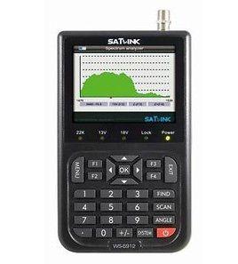 SATLINK WS6912 DVB S2 Digital Satellite Meter & Real Time Spectrum