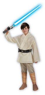 Star Wars Deluxe Luke Skywalker Kids Costume
