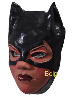 M47 PARTY COSTUME MASK   SEXY HEROINE CAT WOMAN CAT GIRL BATGIRL BLACK