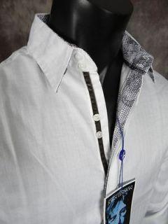 NEW JOHN LENNON English Laundry Shirt PULLFORD in White JLW1345