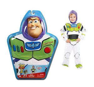 BUZZ LIGHTYEAR dress up outfit, Toy Story 3, Disney Pixar
