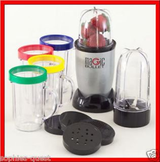 Original MAGIC BULLET Express 17 Pc Blender Mixer *NEW*