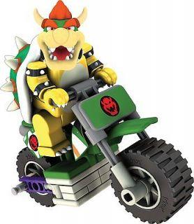 BOWSER & STANDARD BIKE BUILDING SET   KNEX Nintendo Wii Mario Kart