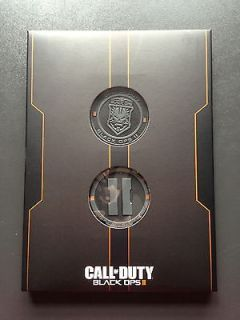 Call Of Duty Black Ops 2 Challenge Coins Collectable Xbox + sound