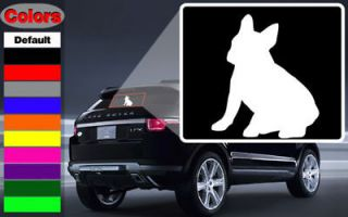 French Bulldog Sit Dog Wall Car Vinyl Decal Sticker
