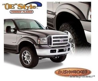 BUSHWACKER 20039 02 Front M Blk OE Style Fender Flares 99 07 Ford F250