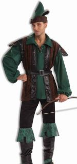 Adult Mens Robin Hood Medieval Halloween Costume