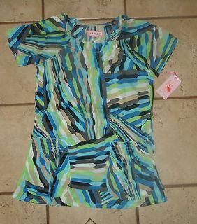 NEW NWT KOI womens scrub top shirt Dakota brown blue black green beige