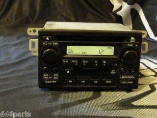 Honda Accord Factory Cd Cassette Car Radio 39101 S84 A510 M1 Unlocked