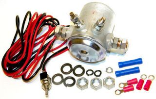 FORD STYLE REMOTE STARTER SOLENOID KIT W KILL SWITCH RAT HOT ROD