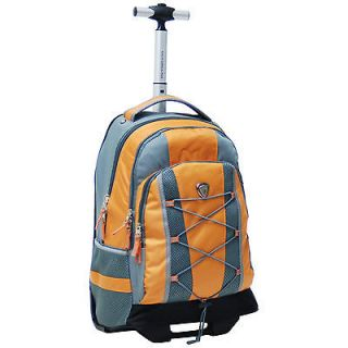 CalPak Impactor 18 inch Rolling Backpack     orange