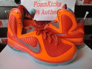 Buy Authentic Nike Lebron 9 469764 602 Christmas Sport Red Refle