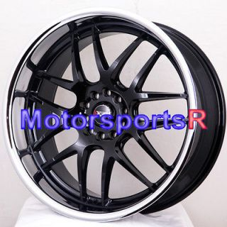 20 20x9 XXR 526 Black Polished Lip Rims Wheels 05 06 07 08 09 11