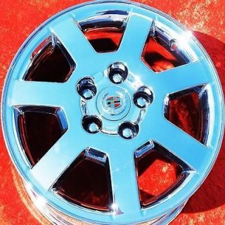 SET OF 4 NEW 16 CADILLAC CTS DEVILLE STS OEM CHROME WHEELS RIMS