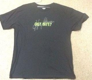 Captain Morgan Lime Bite Mens Black XL Tee Shirt   Brand New   Very