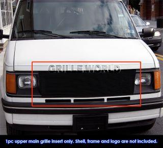 85 94 Chevy Astro Van/ GMC Safari Van Black Billet Grille Grill Insert