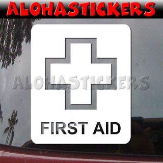 MEDICAL CROSS Laptop Car Truck Graphics Vinyl Decal Window Sticker L34