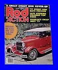 ROD ACTION OCT 1977,1929 FORD TOURING,NSRA,STREET NATIONAL,OCTOBER,HOT
