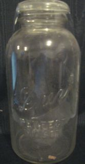 Vintage DREY Mason Jar VERY TALL 9 PERFECT MASON w/ LID Canning Jars