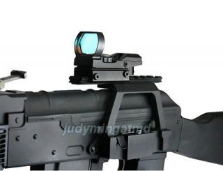 Tactical Rifle Quick Detachable Double Picatinny Rail Side Scope Mount