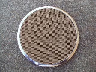 BMW E38 Chromeline Door Panel Speaker Cover Tan Beige Grill (Fits