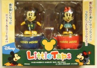 Disney Little Taps Mickey & Minnie Mouse 2 Figure Set Rare Sale Free