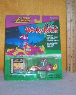 CARTOON NETWORK { PENELOPE PITSTOPS } WACKY RACES DIE CAST CAR