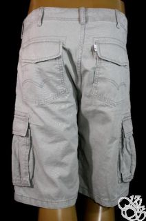 LEVIS JEANS Covert Core Cargo Neutral Grey Sits Below Waist Relaxed