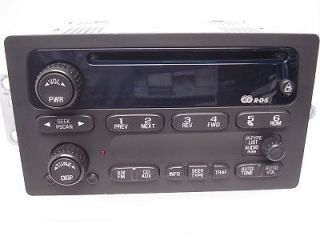 CHEVY CHEVROLET Blazer Jimmy S10 S15 Sonoma Radio Stereo CD Player OEM