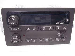CHEVY CHEVROLET Blazer Jimmy S10 S15 Sonoma Radio Stereo CD Player OEM