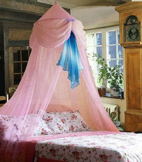 New Pink Baby Crib Bed Canopy Mosquito Netting Cecilia Princess
