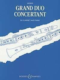 Grand Duo Concertante op. 48 Weber, Carl Maria von clarinet and piano