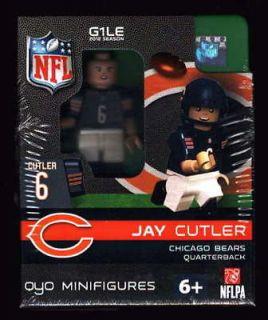 JAY CUTLER OYO LEGO MINIFIGURE MINIFIG FOOTBALL GEN 1 OYO480