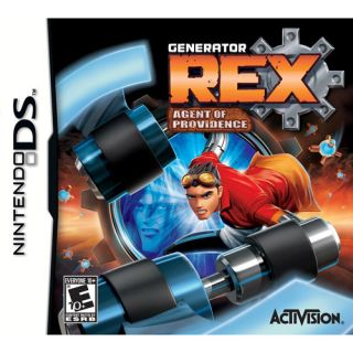 GENERATOR REX AGENT OF PROVIDENCE NINTENDO DS 3D GAME CARTOON NETWORK