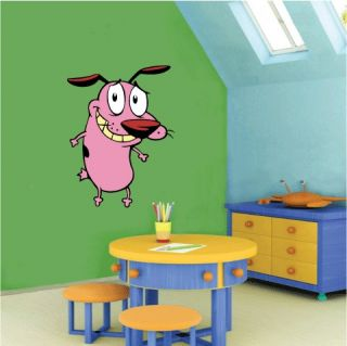 Courage the Cowardly Dog Wall Decor Sticker 18x25